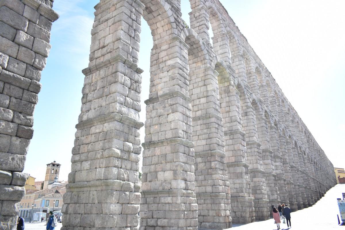 L'aqueduc de Ségovie