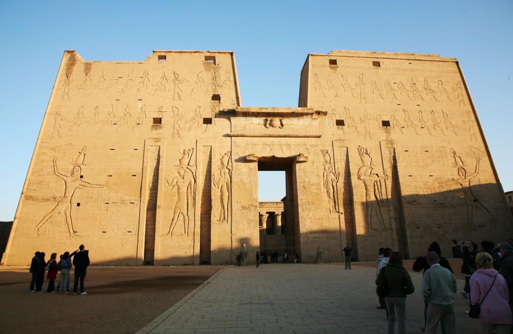 Les temples des dieux égyptiens